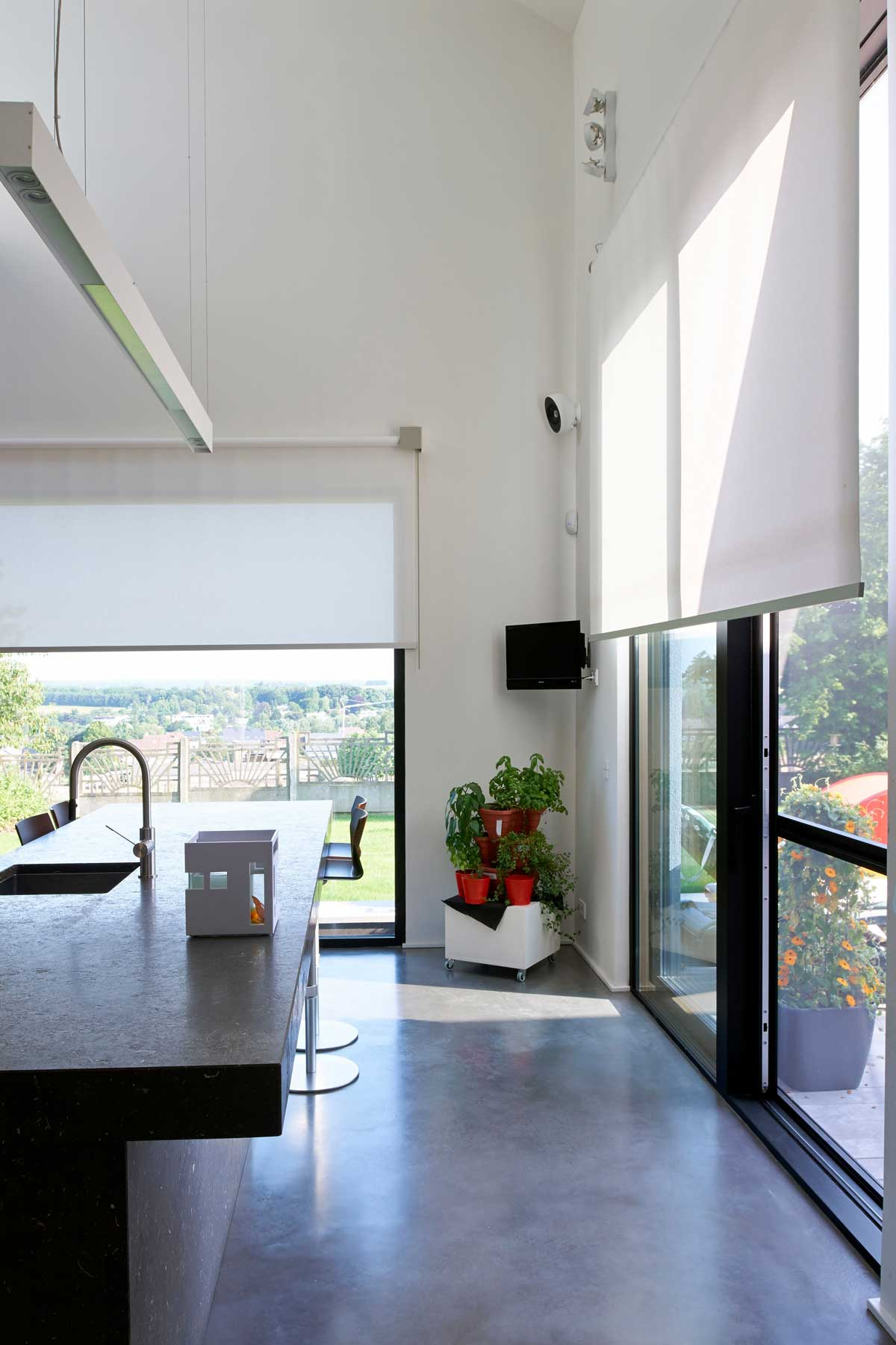 interieurinrichting I rolgordijnen I raamdecoratie